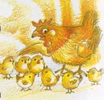 นิทานสอนใจเรื่องดาวลูกไก่