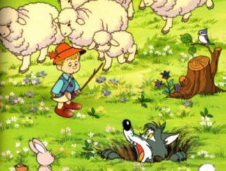 นิทานอีสปสอนใจหมาป่าอกตัญญู