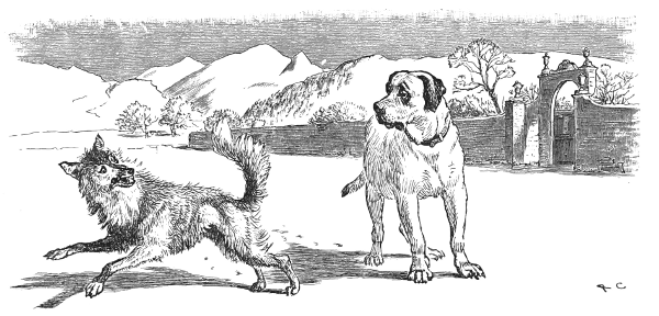 Moral stories-The Dog and the Wolf