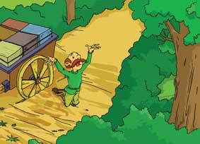 นิทานเด็ก นิทานภาษาอังกฤษ_Hercules and the Wagoner