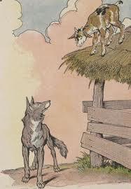 นิทานภาษาอังกฤษ หมาป่ากับลูกแพะ