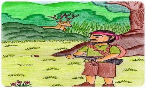 นิทานภาษาอังกฤษ The Hart and the Hunter