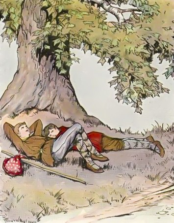 นิทานอีสปภาษาอังกฤษ_นักเดินทางกับต้นไม้