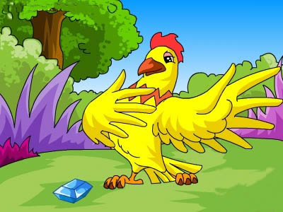 นิทานเด็ก นิทานเรื่องสั้นภาษาอังกฤษ The Cock and the Jewel