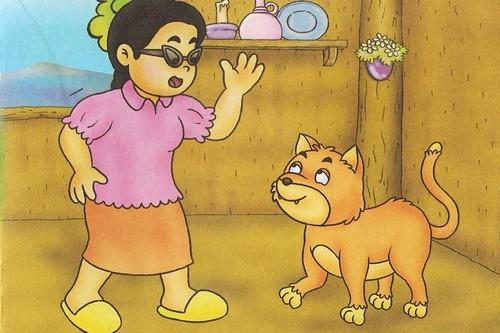 นิทานเด็ก เรื่องแมวกับคนใจคด