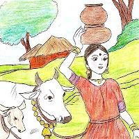 นิทานภาษาอังกฤษ นิทานก่อนนอน หญิงรีดนมวัวผู้เพ้อฝัน