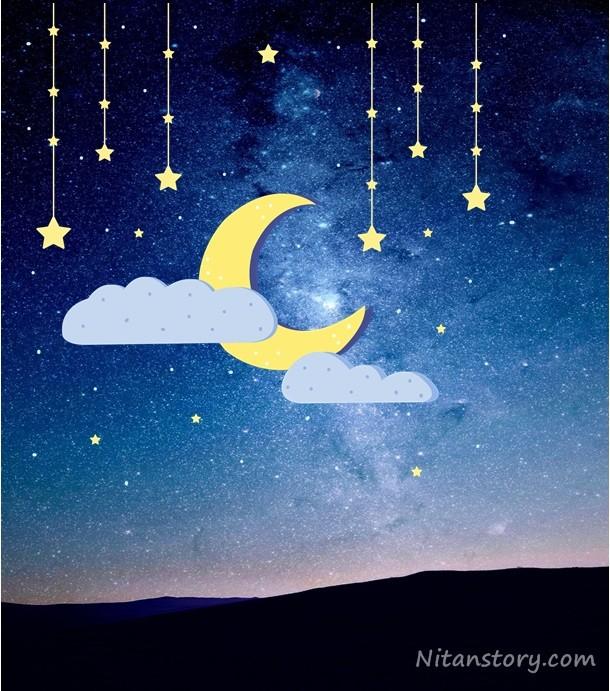 กลางคืนที่มีแสงดาว